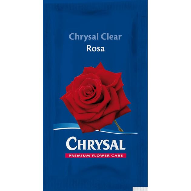 Afbeelding van Chrysal Clear Rosa snijbloemenvoeding sachet 1L