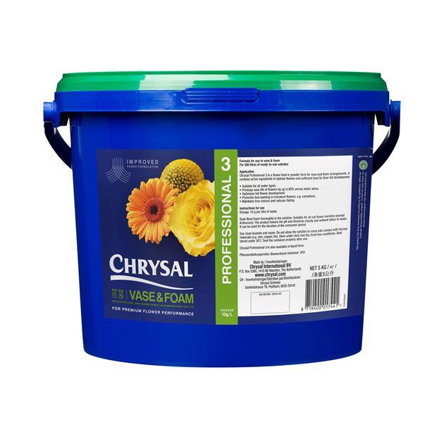 Afbeelding van Chrysal Professional 3 snijbloemenvoeding emmer