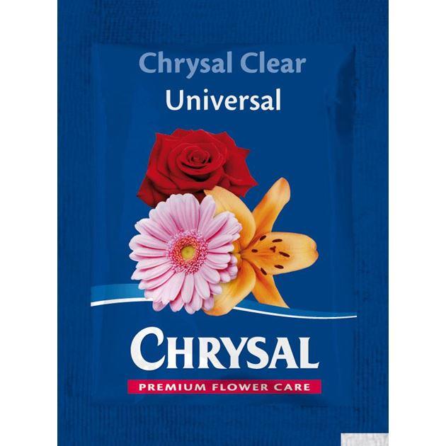 Afbeelding van Chrysal Clear Universeel snijbloemenvoeding sachet 0,5L