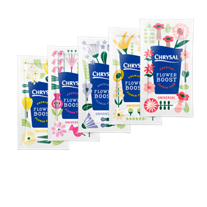 Picture of Chrysal Better Bloom flower food packet 1L