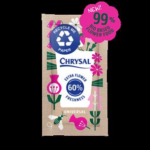 Afbeelding van Chrysal Paper sachet bloemenvoeding zakjes 1L